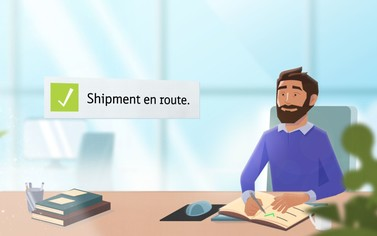 Step 3 - Track your shipment & pay by invoice